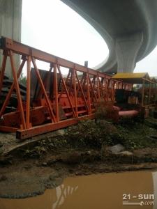 60吨吊重36米跨度二手起重机