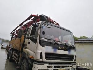 三一SY5313THB二手混凝土泵车