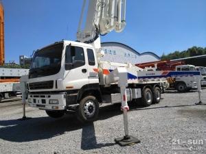 中联重科ZLJ5281THB12二手混凝土泵车