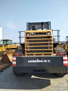 龙工LG855D二手装载机