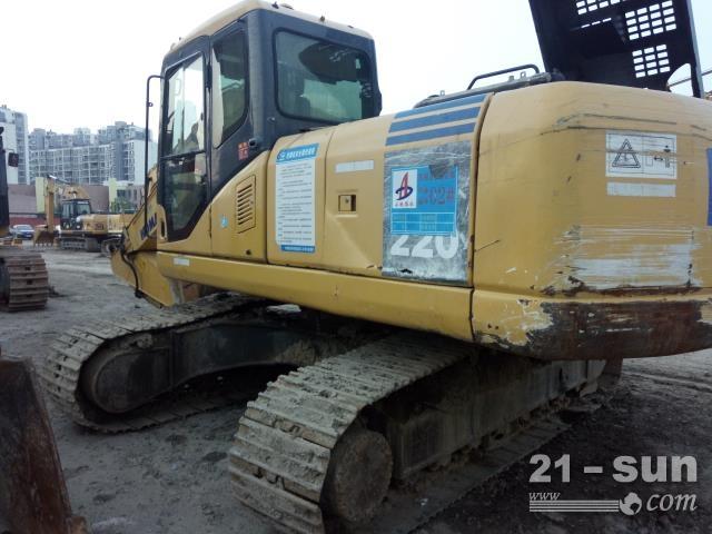 小松220-7二手挖掘机