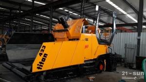 陕建机械ABG423二手挖掘机