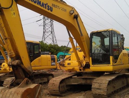 小松小松进口PC200-7二二手挖掘机