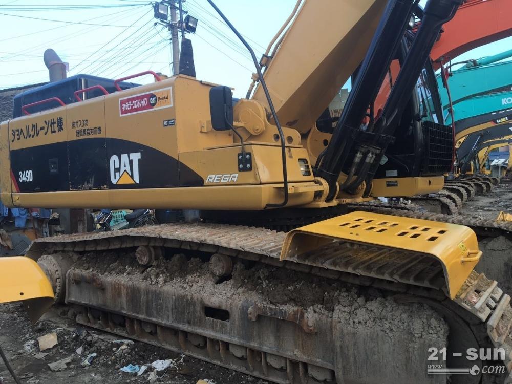 卡特彼勒卡特349D二手挖掘机