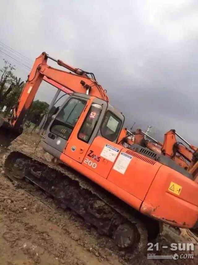 日立日立200-6二手挖掘机