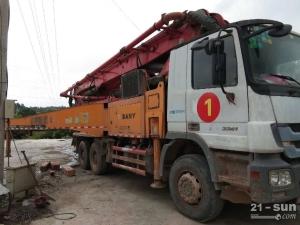 三一SY5310THB-46二手混凝土泵车