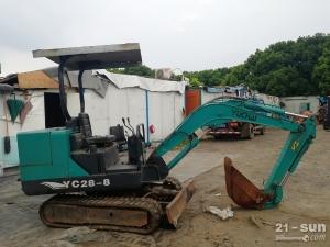 玉柴重工28-8二手挖掘机