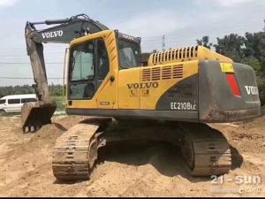 沃尔沃210BLC利发国际挖掘机