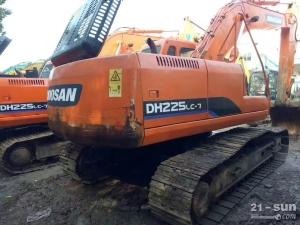 斗山DH225-7挖掘机二手挖掘机