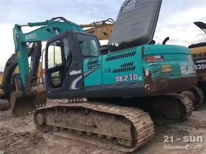 神钢SK210-8二手挖掘机