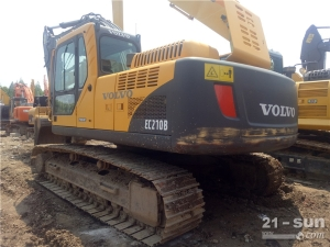 沃尔沃EC210BLC利发国际挖掘机