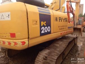 小松PC220-7、200利发国际挖掘机