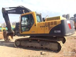 沃尔沃210B二手挖掘机