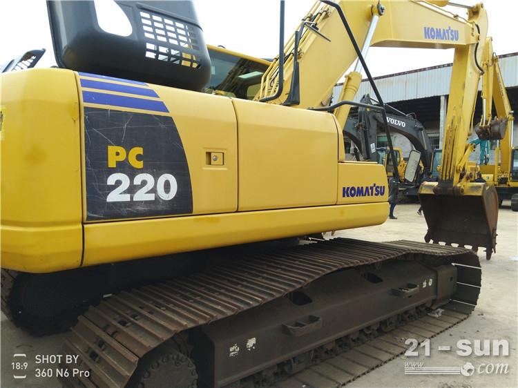 小松220二手挖掘机