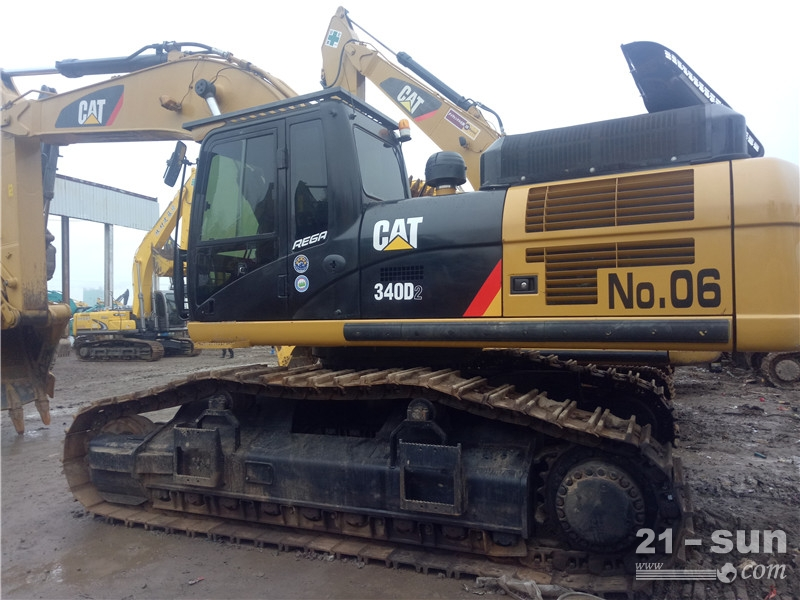 卡特彼勒CAT340D2二手挖掘机