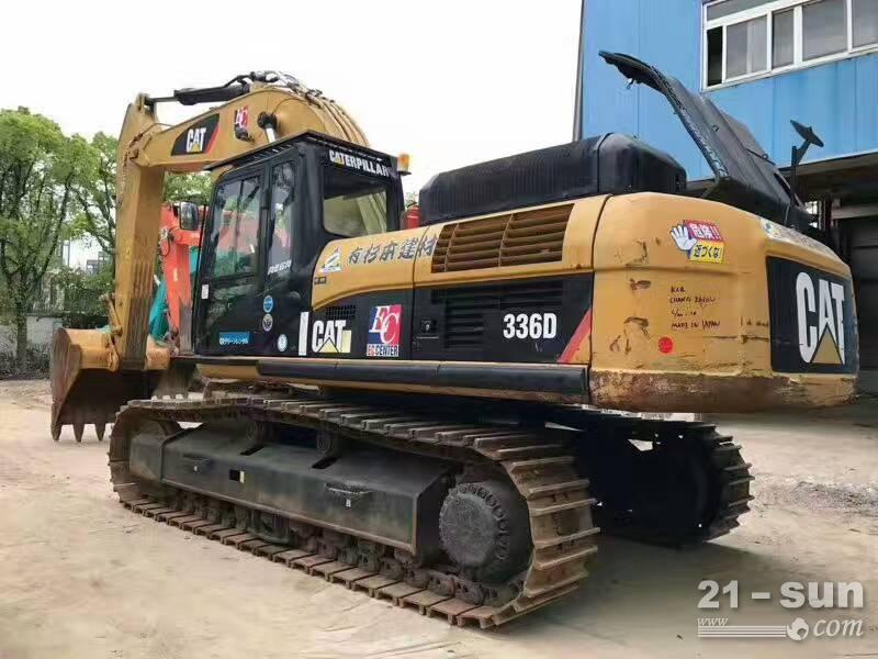 卡特彼勒颁础罢336顿挖掘机在线配资网挖掘机
