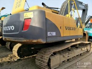 沃尔沃EC210B二手挖掘机