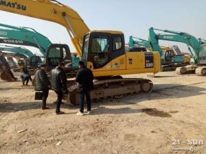小松笔颁220挖掘机色姑娘久久综合网挖掘机
