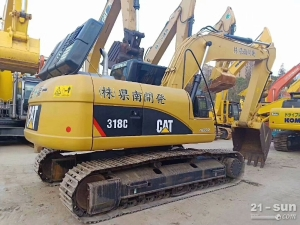 卡特彼勒CAT318C二手挖掘机
