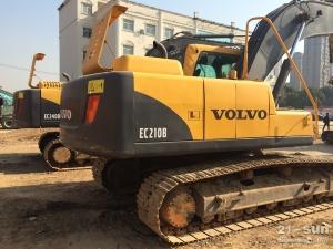 沃尔沃EC210B挖掘机二手挖掘机