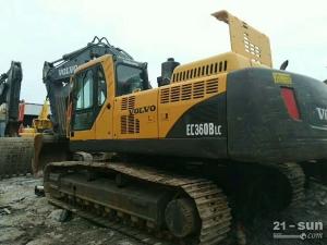 沃尔沃EC360B利发国际挖掘机
