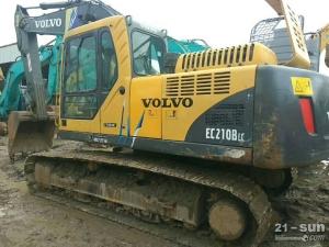 沃尔沃EC210B二手挖掘机二手挖掘机
