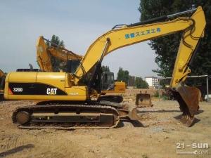 卡特彼勒卡特320和323二手挖掘机