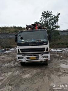 三一SY5418THB-52二手混凝土泵车