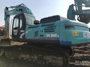 神钢350-8二手挖掘机