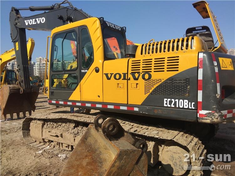 沃尔沃沃尔沃EC210挖掘机二手挖掘机