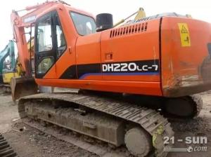 斗山DH220-7挖掘机二手挖掘机