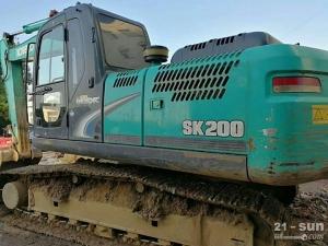 神钢SK200超8二手挖掘机