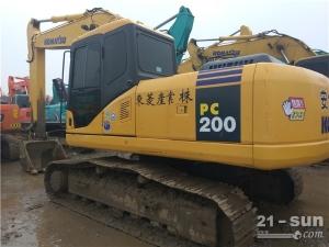 小松小松PC200-7挖掘机利发国际挖掘机