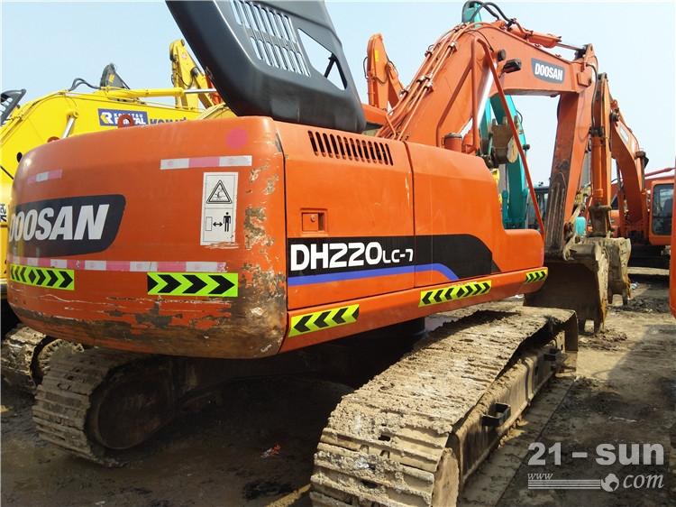斗山斗山220-7挖掘机二手挖掘机