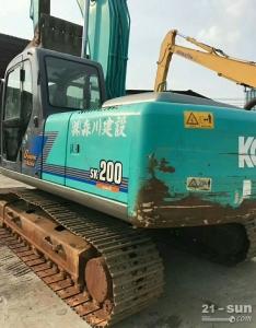 神钢SK200挖掘机二手挖掘机