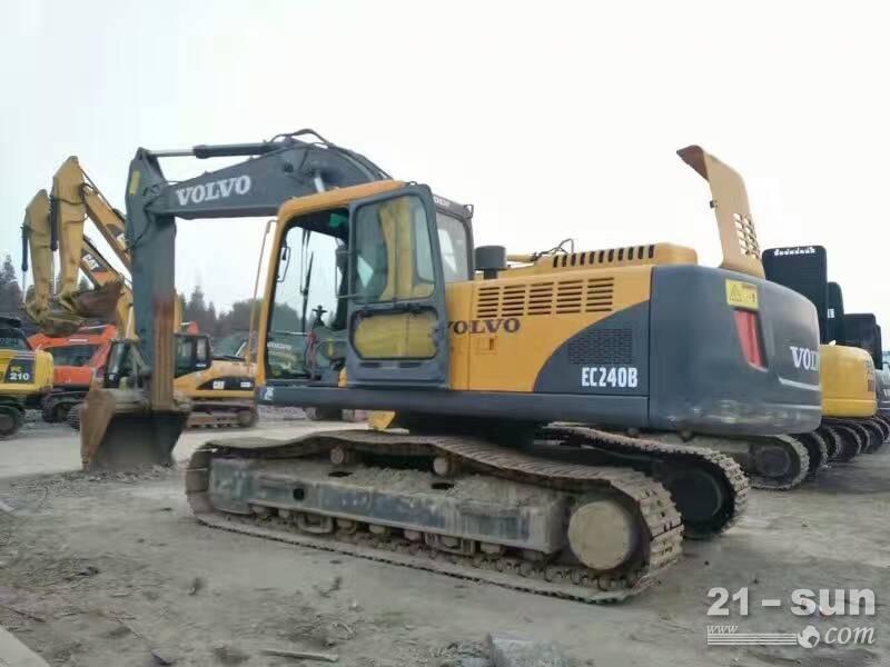 沃尔沃贰颁210叠挖掘机在线配资网挖掘机