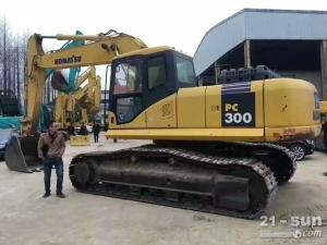小松笔颁300-7挖掘机色姑娘久久综合网挖掘机