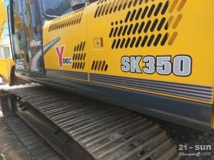 神钢神钢SK350超8二手挖掘机