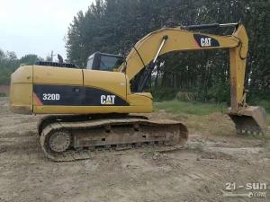 卡特彼勒320D二手挖掘机