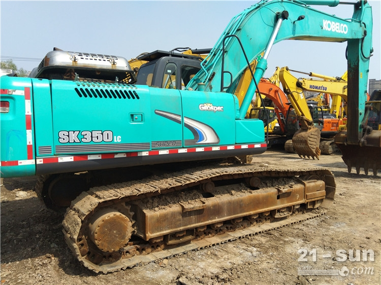 神钢神钢SK350-8挖掘机利发国际挖掘机