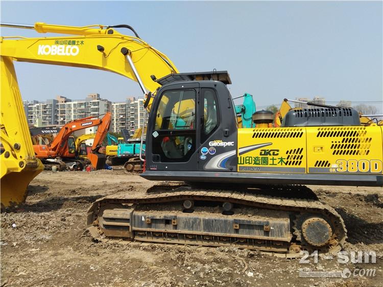 神钢神钢SK350-8大黄蜂利发国际挖掘机