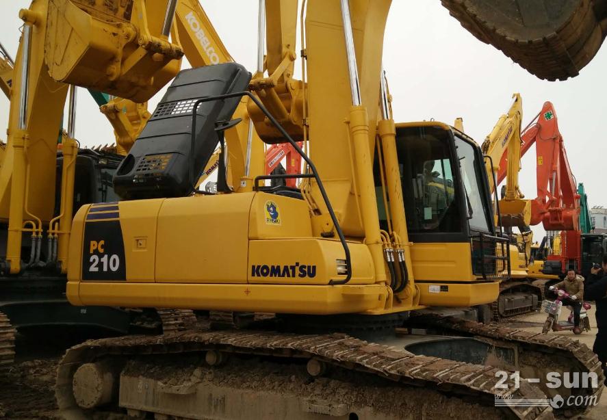 小松200-6二手挖掘机
