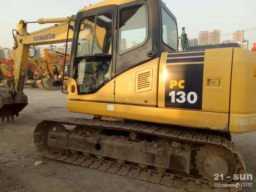 小松130二手挖掘机