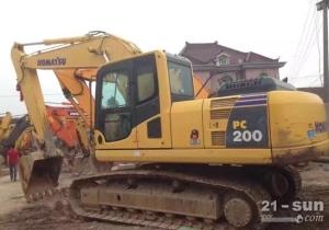 小松200二手挖掘机