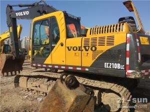 沃尔沃沃尔沃EC210BLC利发国际挖掘机