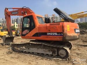 斗山DH220二手挖掘机