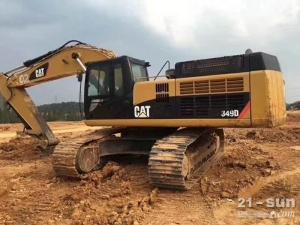 卡特彼勒349二手挖掘机