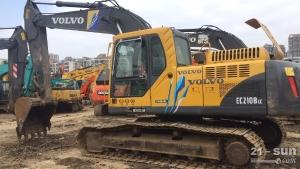 沃尔沃EC210色姑娘久久综合网挖掘机