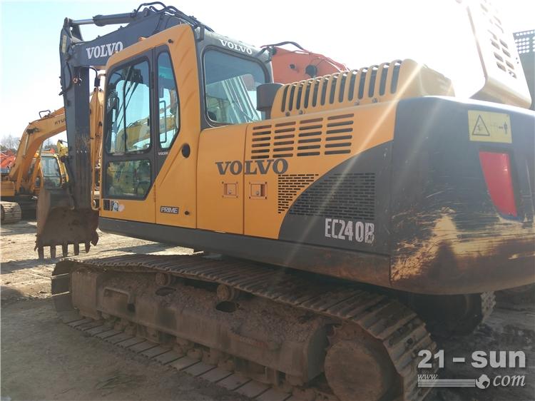 沃尔沃沃尔沃EC240BLC澳门赌城平台挖掘机