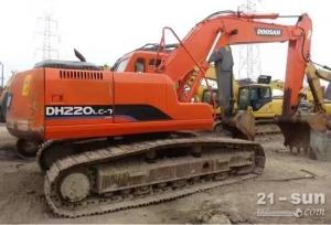 斗山DH220-7利发国际挖掘机